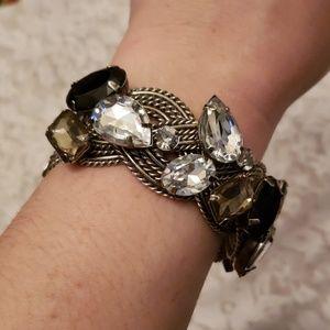 Jewelry - Chunky silver tone bracelet